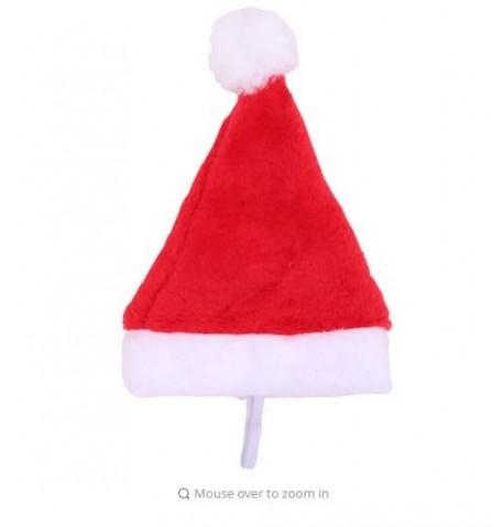 Bonnet de Noël en Peluche avec Collier pour Chat et Chien