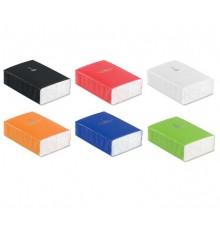 10 mini mouchoirs en papier dans un paquet coloré