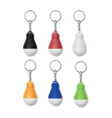Lampe ampoule avec porte-clés