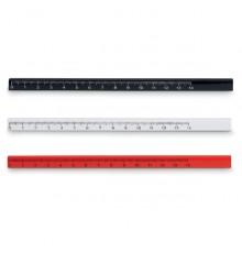 Crayon de charpentier en bois à tailler avec règle de 14 cm