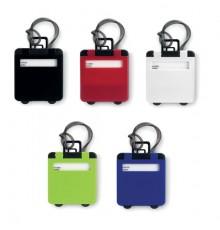 5 couleurs de porte-étiquette de bagage en plastique