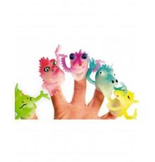 Mini marionnette dragons pour doigts