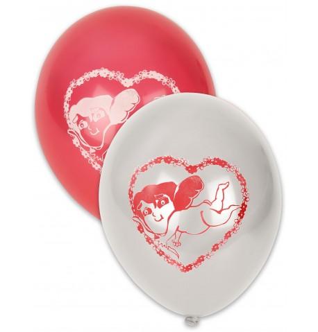 10 Ballons Saint Valentin