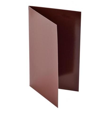 10 cartes unies chocolat