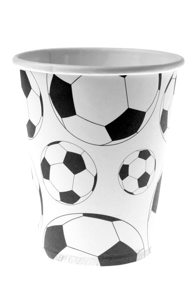 Pack de 10 Gobelets à Motif Ballon de Foot