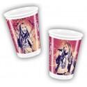10 gobelets Hannah Montana