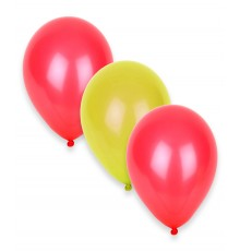 12 Ballons Supporter Espagne 27 cm
