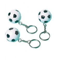 Lot de 12 Portes-clefs Ballons de Football