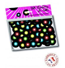 150 confettis de table vinyl