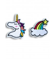 2 Broches licorne