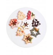Paire d'Emporte-pièces Double-face Noël en Plastique