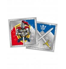 20 Serviettes chevaliers 33x33cm