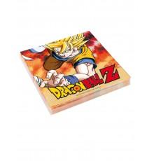 20 Serviettes en papier Dragon Ball Z 33 x 33 cm