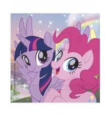 20 Serviettes en papier Pony & Friends 33 x 33 cm