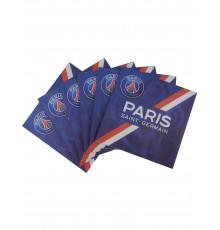 20 Serviettes en papier PSG 33 x 33 cm