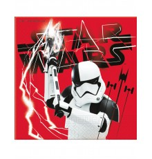 20 serviettes Star wars 8 The Last Jedi  33 x 33 cm