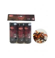 Pack de 3 Canons à Confettis Noir et Orange 11 cm