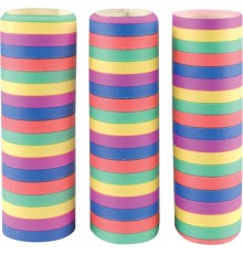 Lot de 3 rouleaux de serpentins 4 m