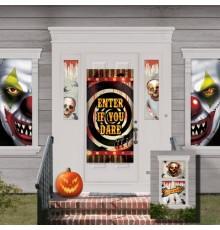 Pack de 33 Décorations de Maison Halloween en Plastique Fin