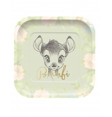 Pack de 4 assiettes premium motif Bambi
