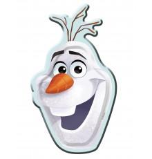 Paquet d'assiettes en forme de la tête d'Olaf