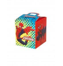 Pack de quatre boîtes à cadeau avec motif Spiderman