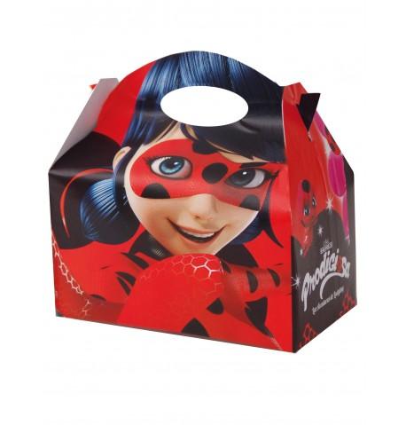 4 Boîtes en carton Ladybug 17 x 25 cm