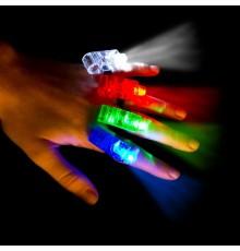 Spots à LED pour doigts par lot de 4