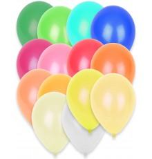 50 ballons assortiment de couleurs