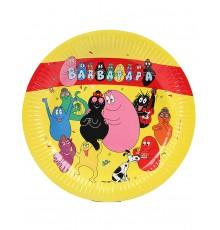 6 assiettes Barbapapa