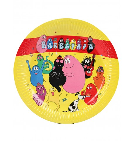 6 assiettes Barbapapa