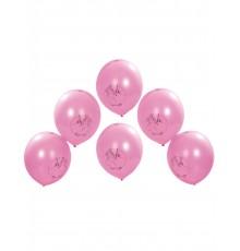 6 Ballons imprimés Princesse