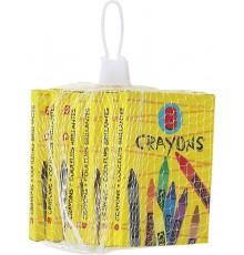 Paquet de 6 boîtes de crayon de couleur