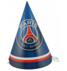 Paquet de 6 chapeaux à motif PSG
