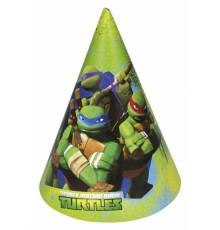 6 Chapeaux de fête Tortues ninja