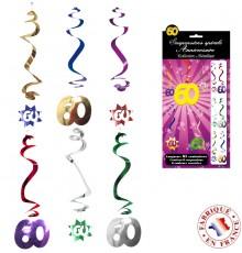 Six suspensions spirales avec âge