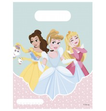 6 Sacs à cadeaux Princesses Disney 16.5 x 23 cm
