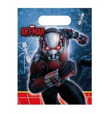 Pack de 6 sacs cadeaux Ant-Man