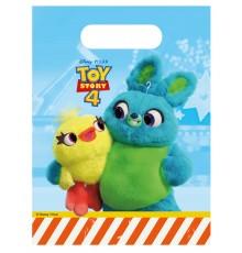 6 Sacs cadeaux Toy Story 4