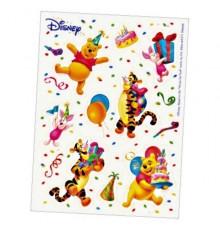 6 stickers Winnie l'Ouson