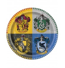 8 Assiettes en carton Harry Potter  23 cm
