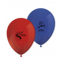 Sachet de 8 Ballons Spiderman en Latex