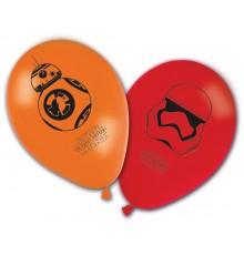 8 Ballons imprimés Star Wars VII