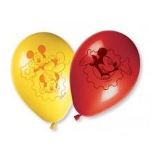Pack de 8 Ballons Mickey Mouse en Latex