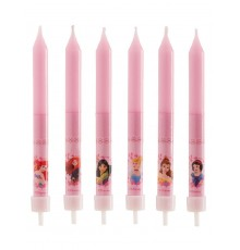 """8 Bougies d'Anniversaire """"Princesses Disney"""""""