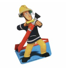 8 Cartes d'invitation Sam le pompier