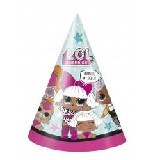 8 Chapeaux de fêtes LOL Surprise