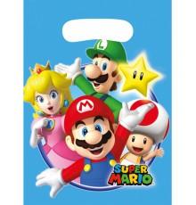 Ensemble de 8 sacs de fête Super Mario