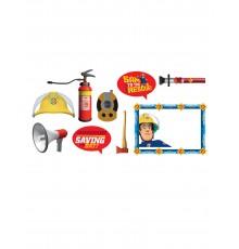 9 accessoires photobooth Sam le Pompier