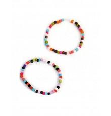 Bracelets perles multicolores pour Pinata